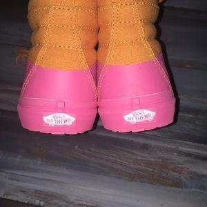 Vans Shoes - VANS SK8-HI 🍋 Dark Ceddar/Pink Lemonade color!
